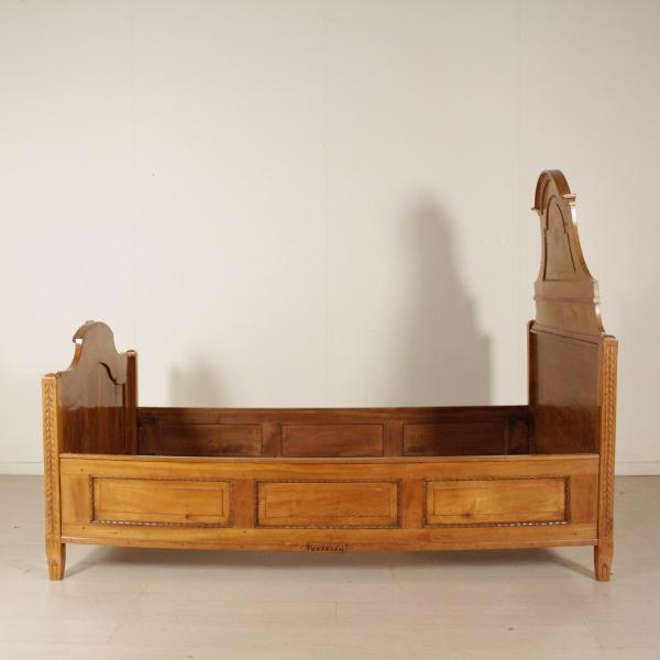 Letto in ciliegio mobili in stile bottega del 900 - Letto in ciliegio ...