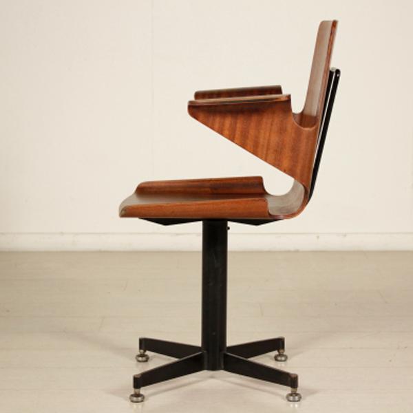 Sedia anni 50 60 sedie modernariato for Sedia anni 40