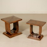 Pair of coffee tables art deco