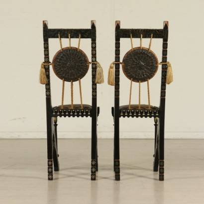 Two Chairs by Carlo Bugatti 20th Century