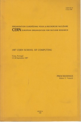 1987 Cern school of computing