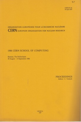 1986 Cern school of computing