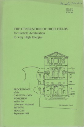 The general of high fields for Particle Acceleration to Very High Energies