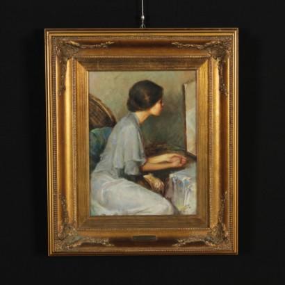 Allo specchio di gianni strino novecento arte for Specchio 1900