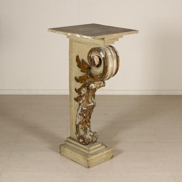 Mensola portavasi in legno altri mobili antiquariato for Portavasi in legno