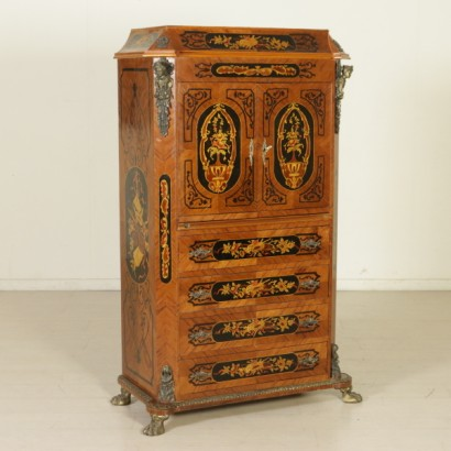 Secretaire decorato