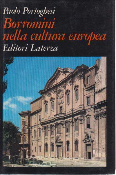 Borromini nella cultura europea paolo portoghesi for Bruno zevi saper vedere l architettura
