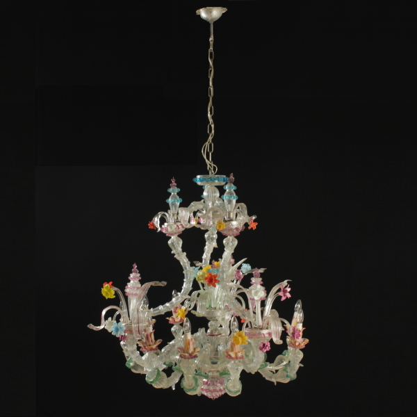 Murano chandelier chandeliers and lamps antiques dimanoinmano murano chandelier mozeypictures Gallery