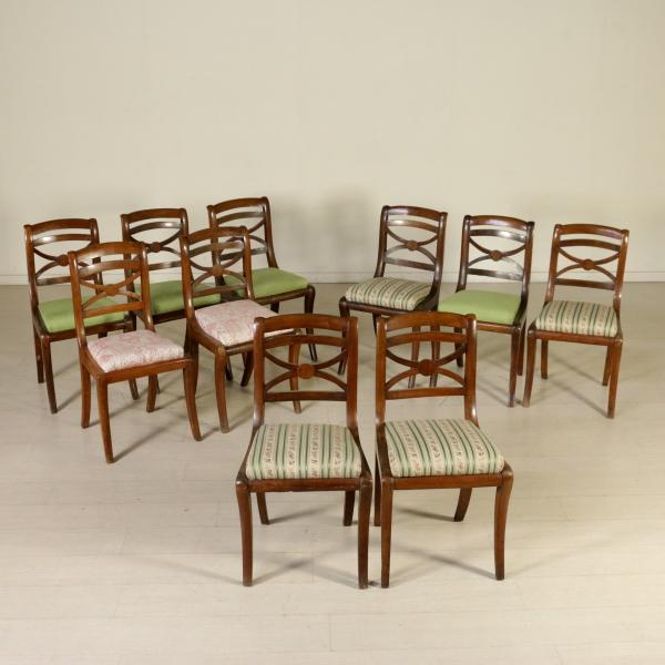 Grupo de diez sillas de restauraci n mesas de sillas - Restauracion de sillas ...