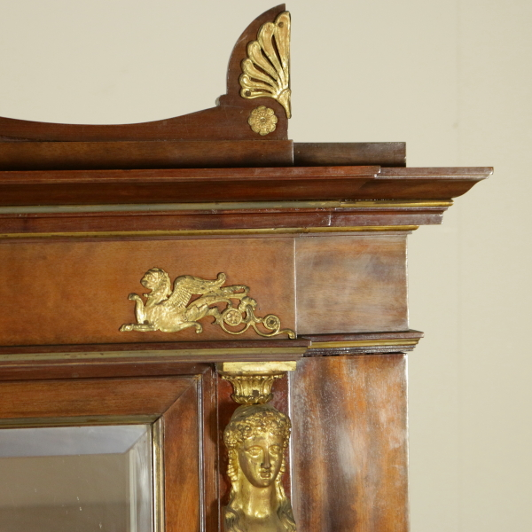 Credenza in stile impero mobili in stile bottega del for Stile impero arredamento