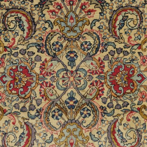 Teppich Kerman Laver  Iran  Teppiche  Antiquitäten