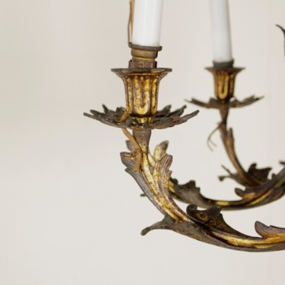 Chandelier in bronze - special