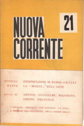 New Current 21 (January-March 1961)