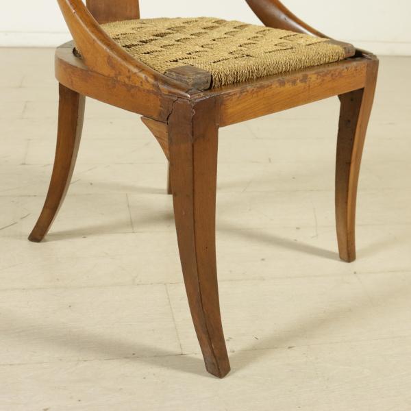 Sedia a gondola sedie poltrone divani antiquariato for Sedia particolare