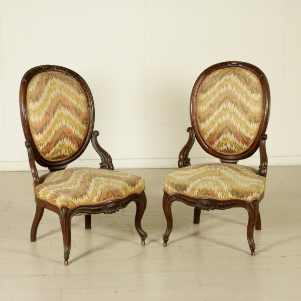 Divani Antichi Luigi Filippo : Coppia di poltrone luigi filippo sedie divani