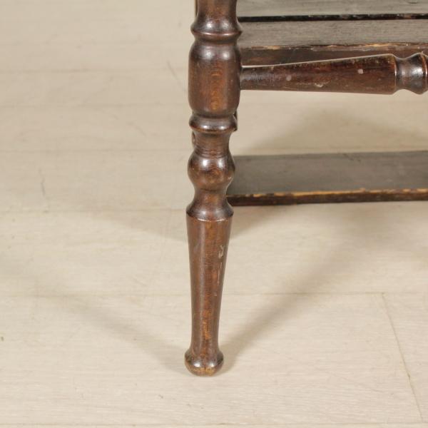 Sedia scaletta mobili in stile bottega del 900 for Sedia particolare