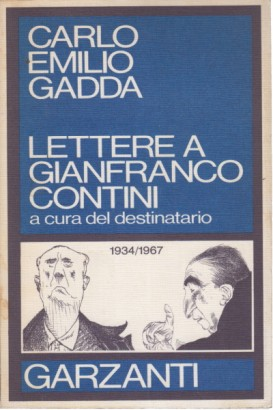 Letters to Gianfranco Contini