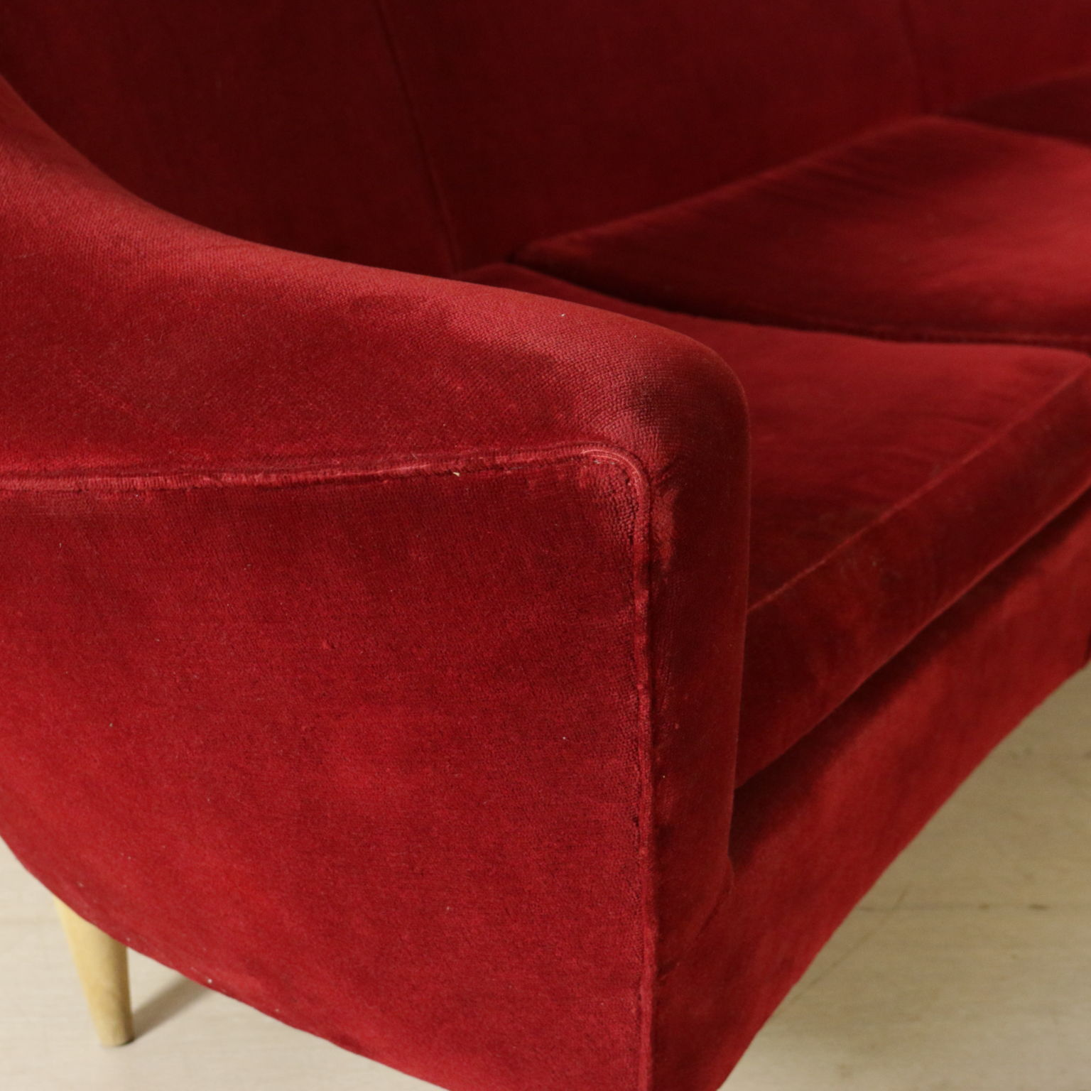 sofa of the 50s