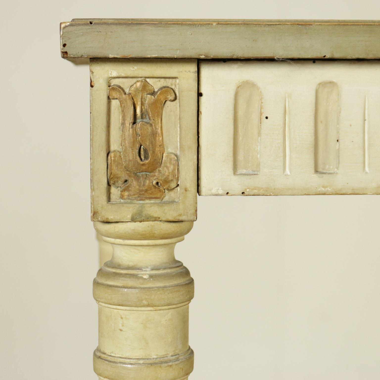 konsolentisch mit spiegel jugendstil liberty bottega del 900. Black Bedroom Furniture Sets. Home Design Ideas