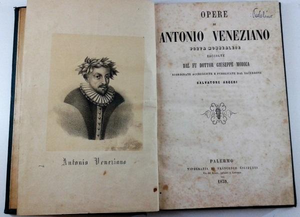 Poesia La Credenza Di Arthur Rimbaud : Opere di antonio veneziano poeta monrealese raccolte dal fu dottor