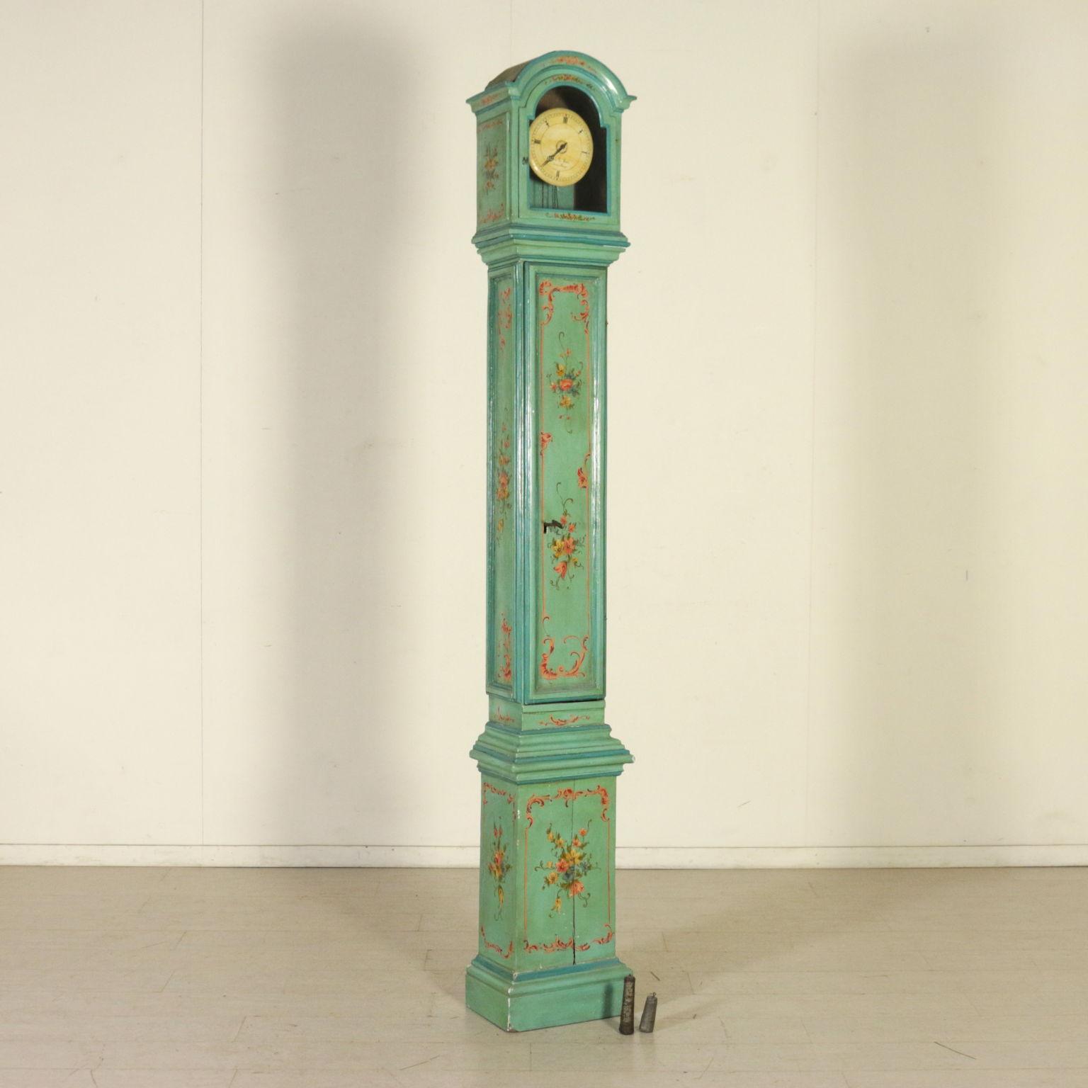 Pendolo decorato altri mobili antiquariato for Antiquariato mobili