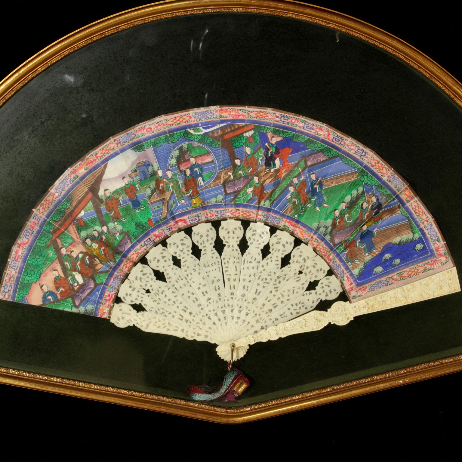 Ventagli Da Parete Decorativi ventaglio cinese - oggettistica - antiquariato - dimanoinmano.it