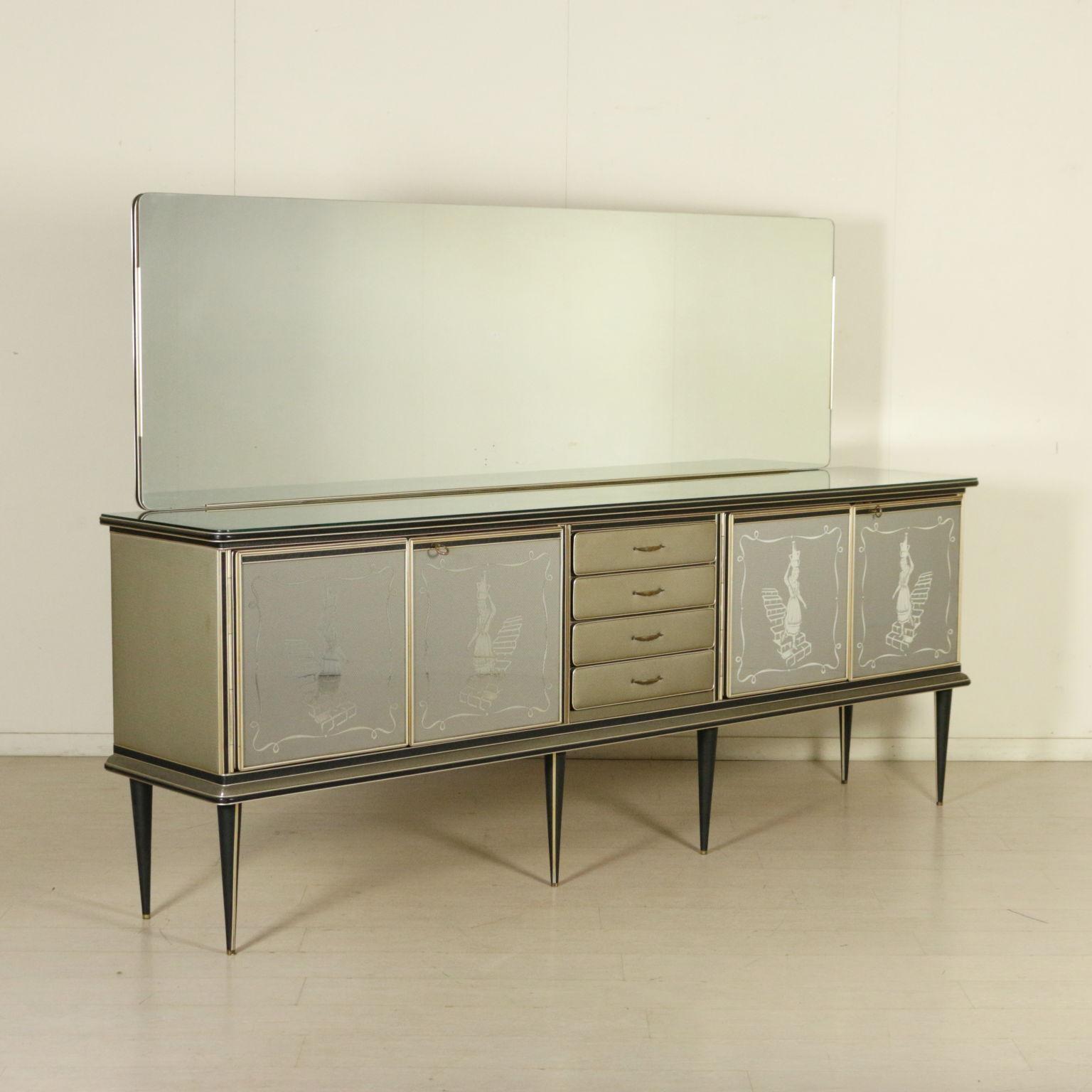 buffet umberto mascagni m bel modernes design. Black Bedroom Furniture Sets. Home Design Ideas