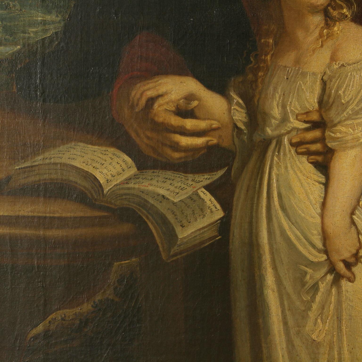 L 39 educazione della vergine pittura antica arte - Pittura particolare ...