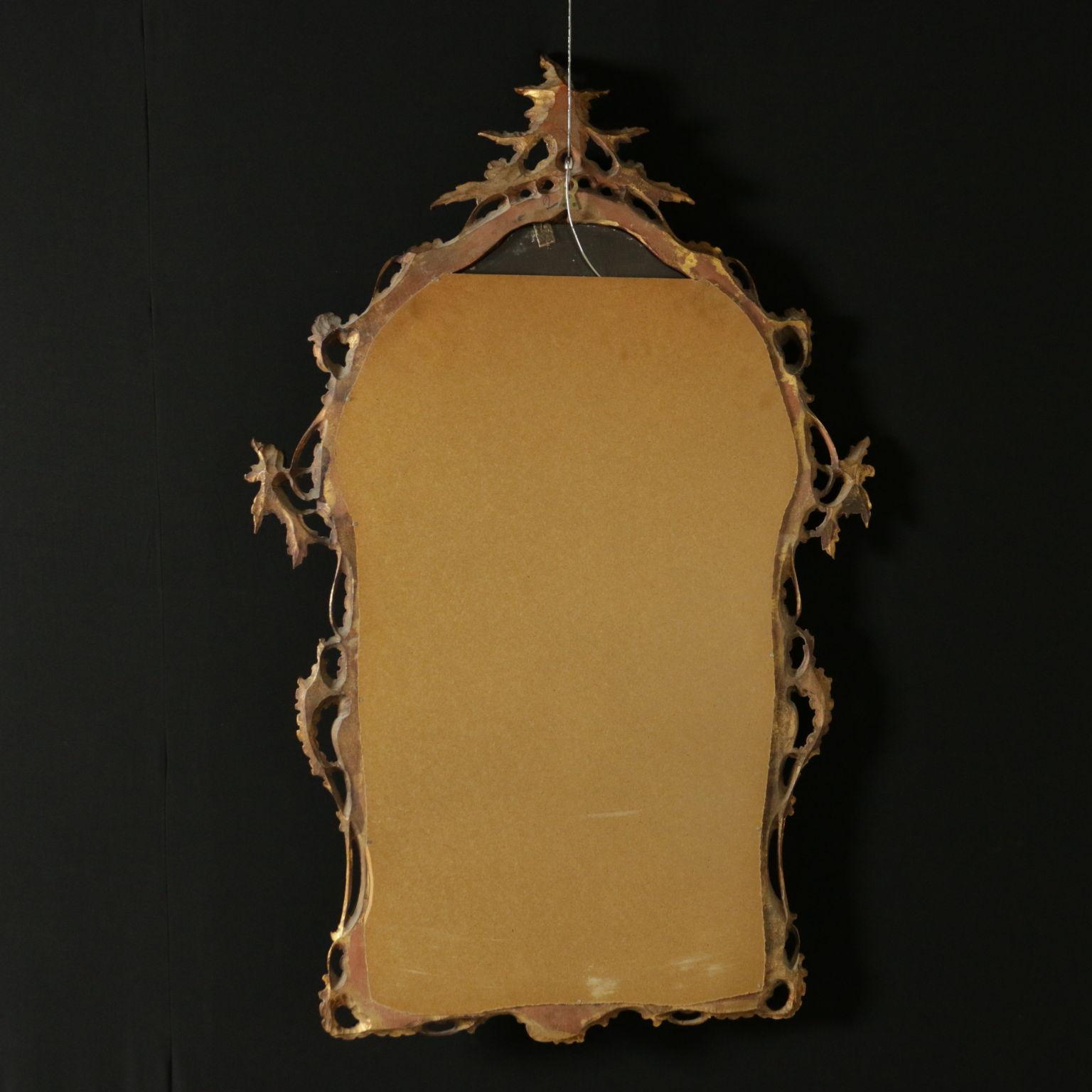 Espejo tallado muebles de estilo bottega del 900 for Espejos tallados