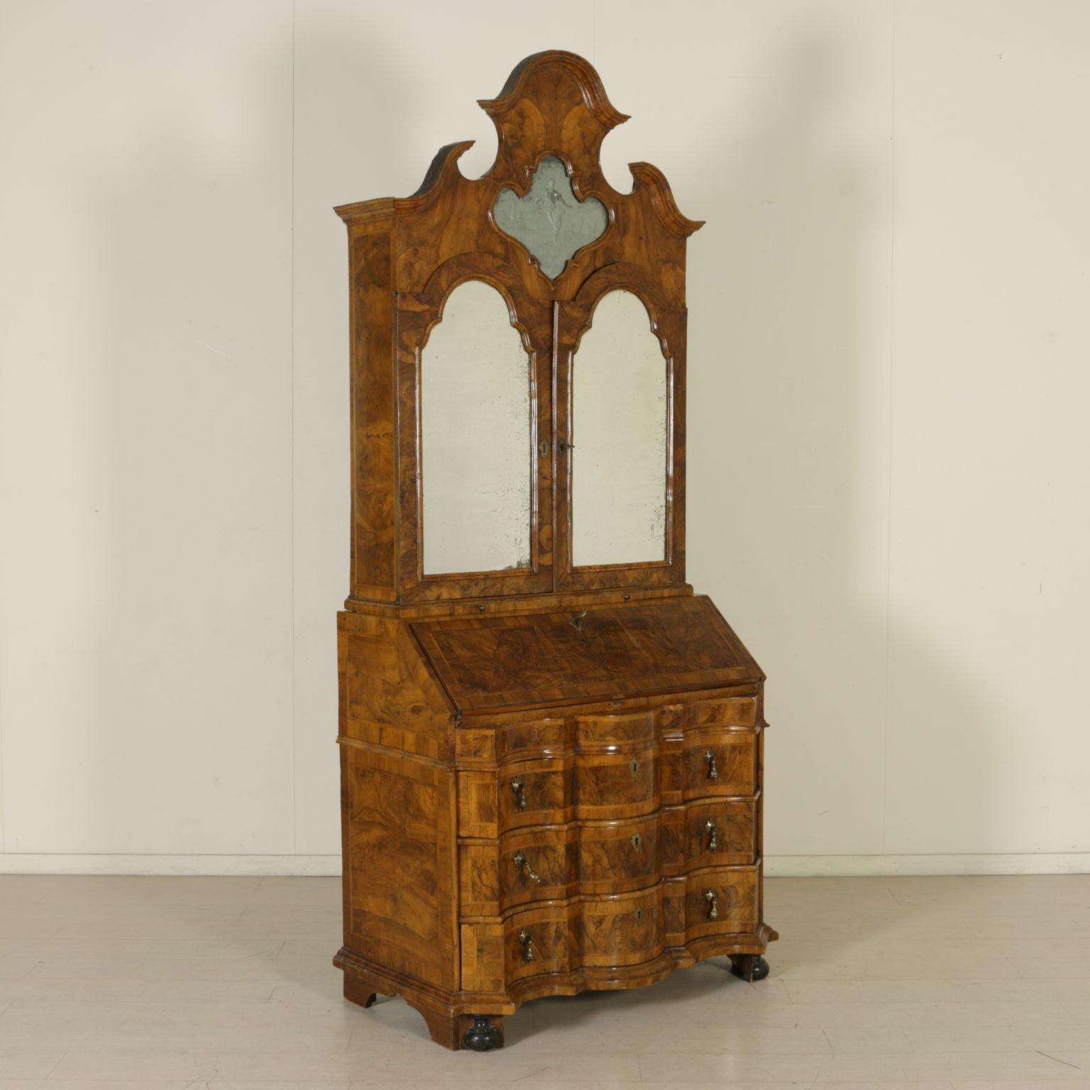 Trumeau veneto con specchi mobili in stile bottega del 900 - Specchi in stile ...