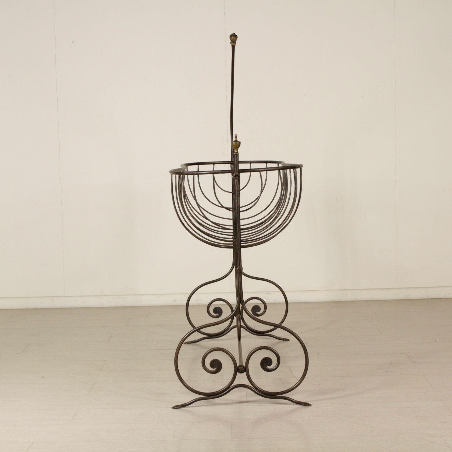 berceau en fer forg meubles de style bottega del 900. Black Bedroom Furniture Sets. Home Design Ideas