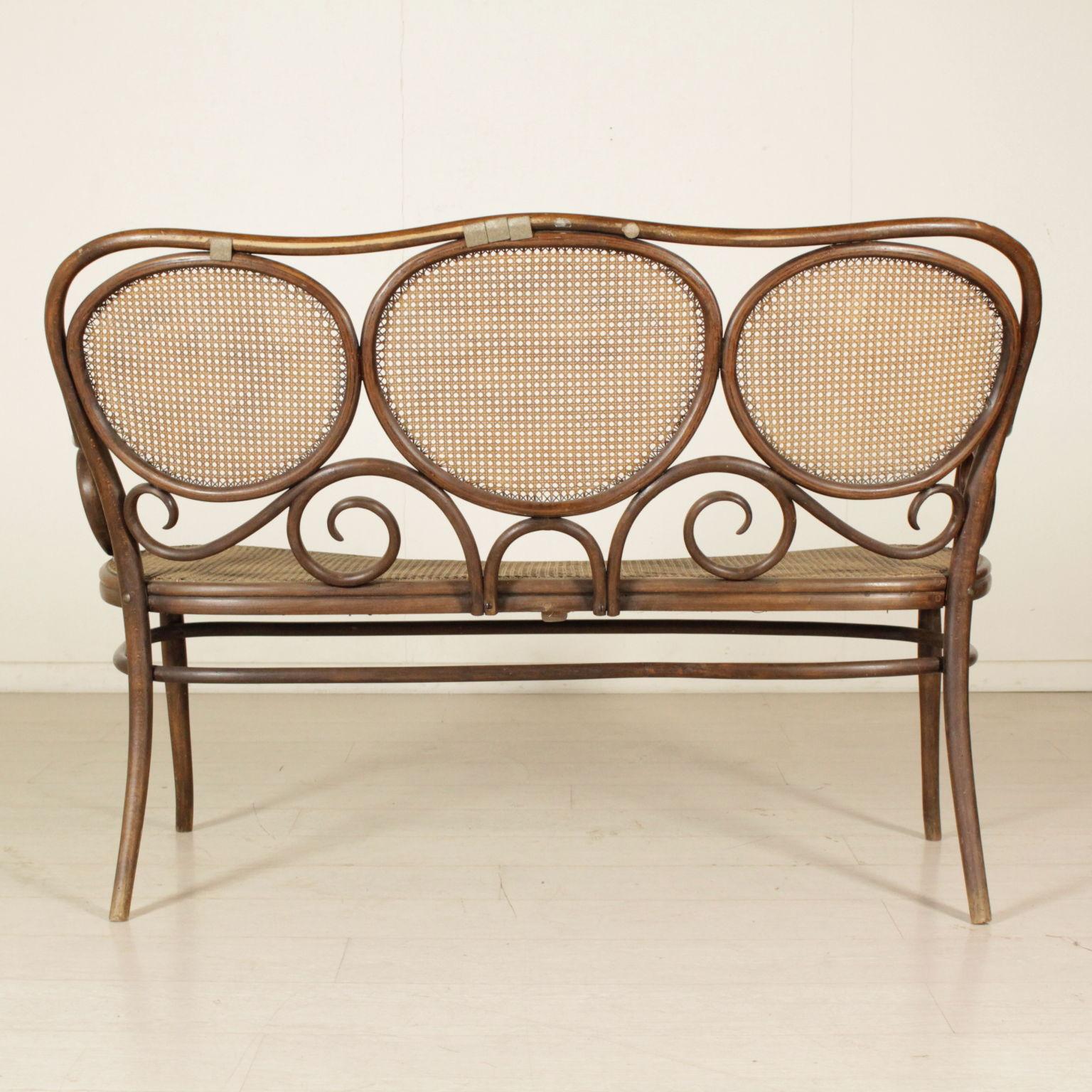 divano thonet mobili in stile bottega del 900