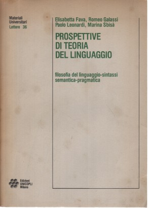 The prospects of a theory of language