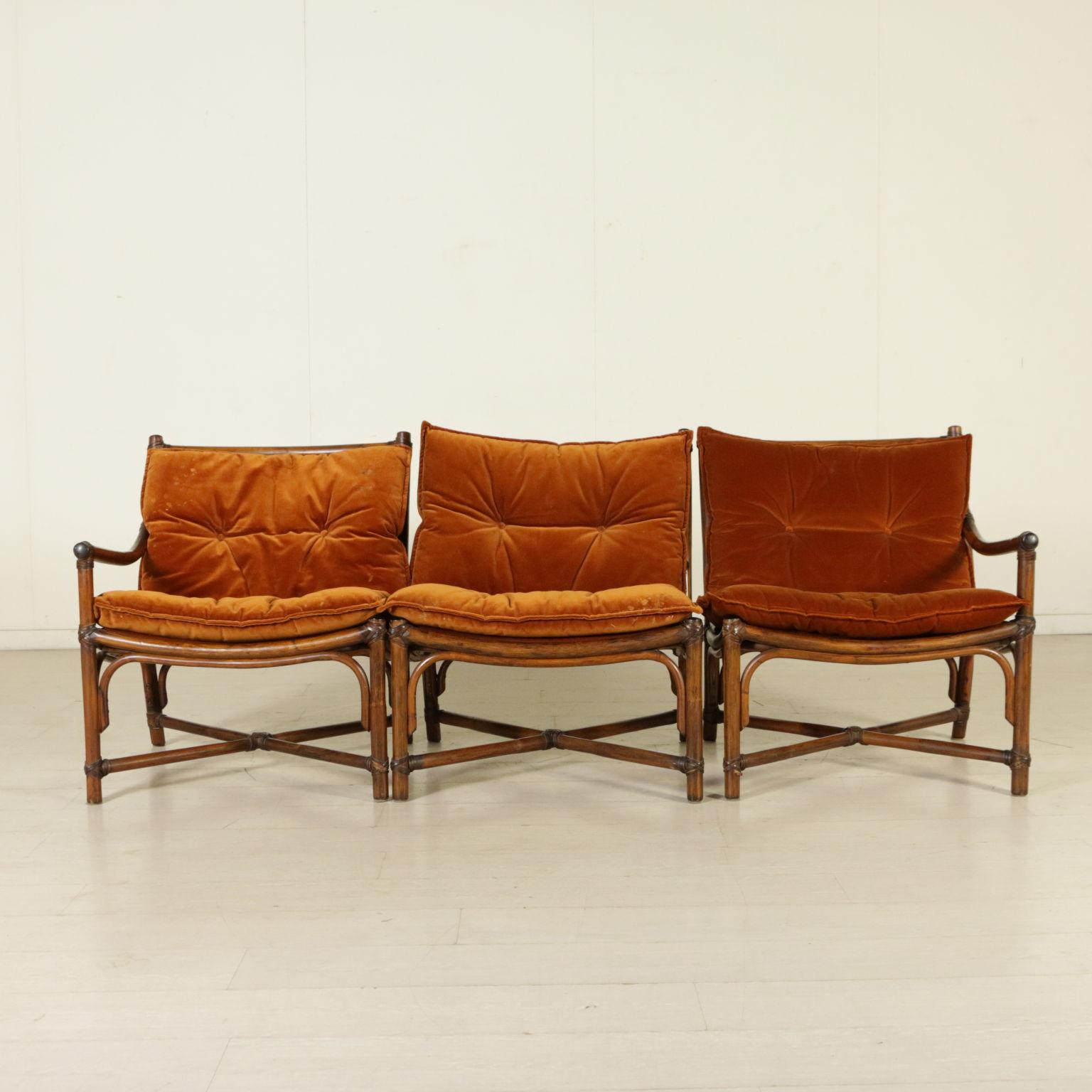 Canapé Années 70 Vintage Italie - Canapés - Design moderne ...