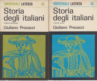 The history of the italians (2 Volumes)