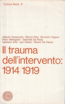 Il trauma dell'intervento: 1914/1919