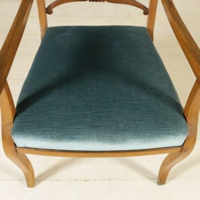 Sedia restaurazione sedie poltrone divani antiquariato for Sedia particolare