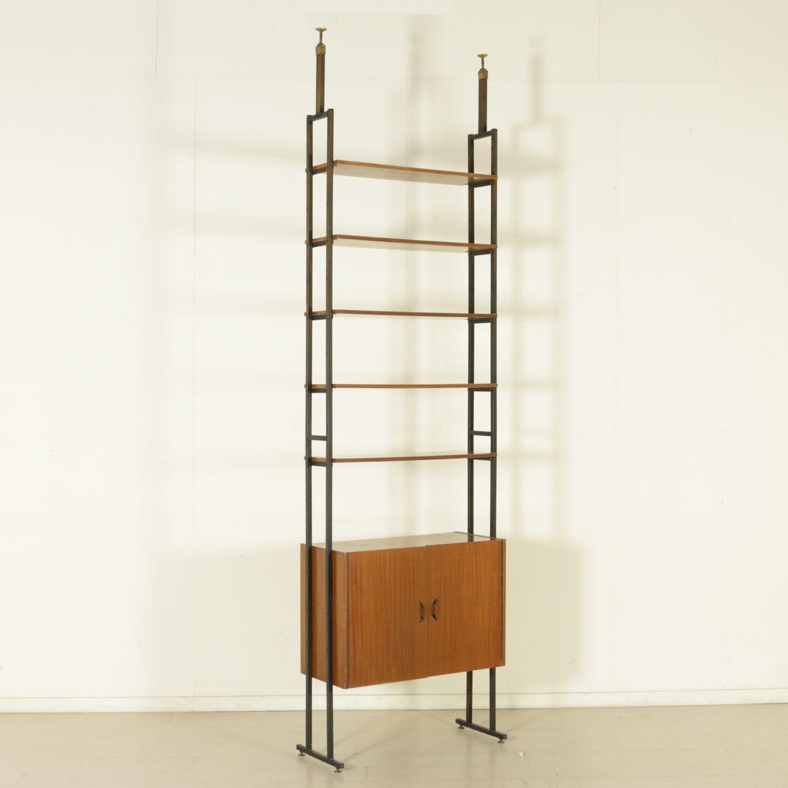 biblioth que vintage ann es 50 60 les biblioth ques design moderne. Black Bedroom Furniture Sets. Home Design Ideas