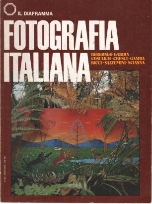 The aperture: Italian Photography (no. 190, march 1974)