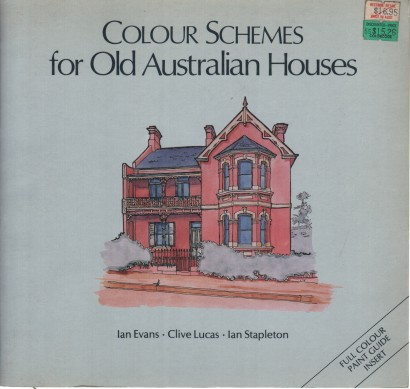 Colour schemes of old Australian houses