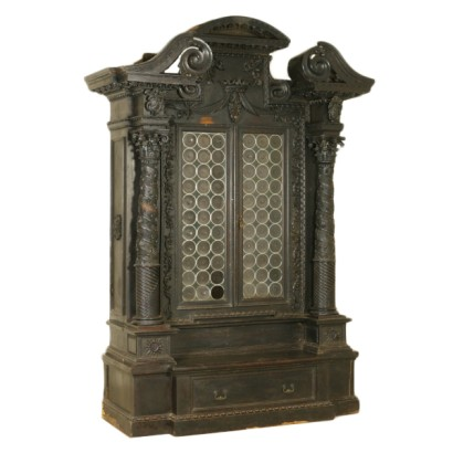 Large Renaissance Revival Bookcase