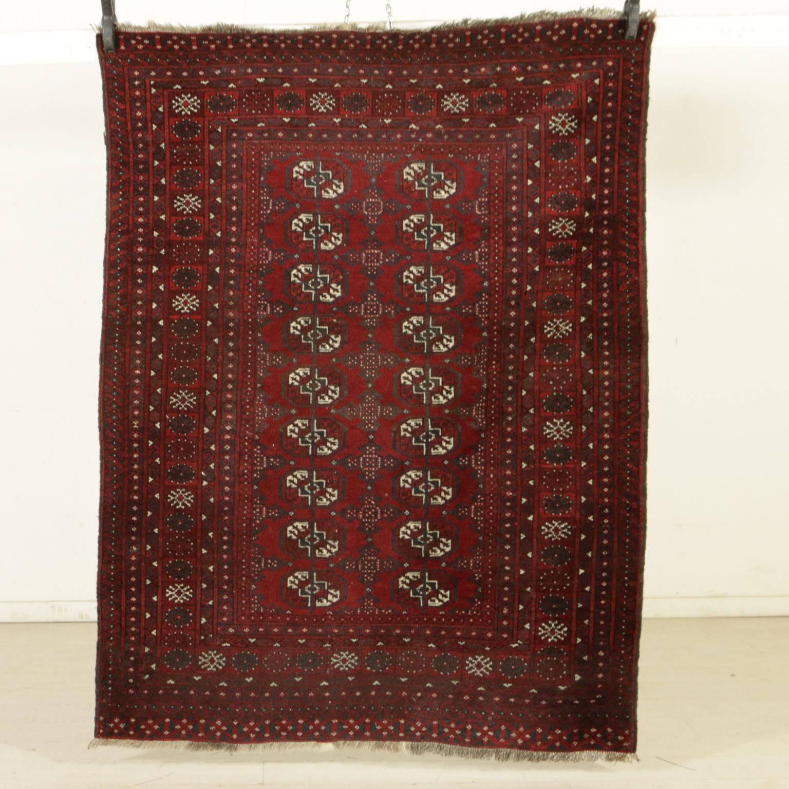 Carpet Bukhara Afghanistan Tappeti Antique