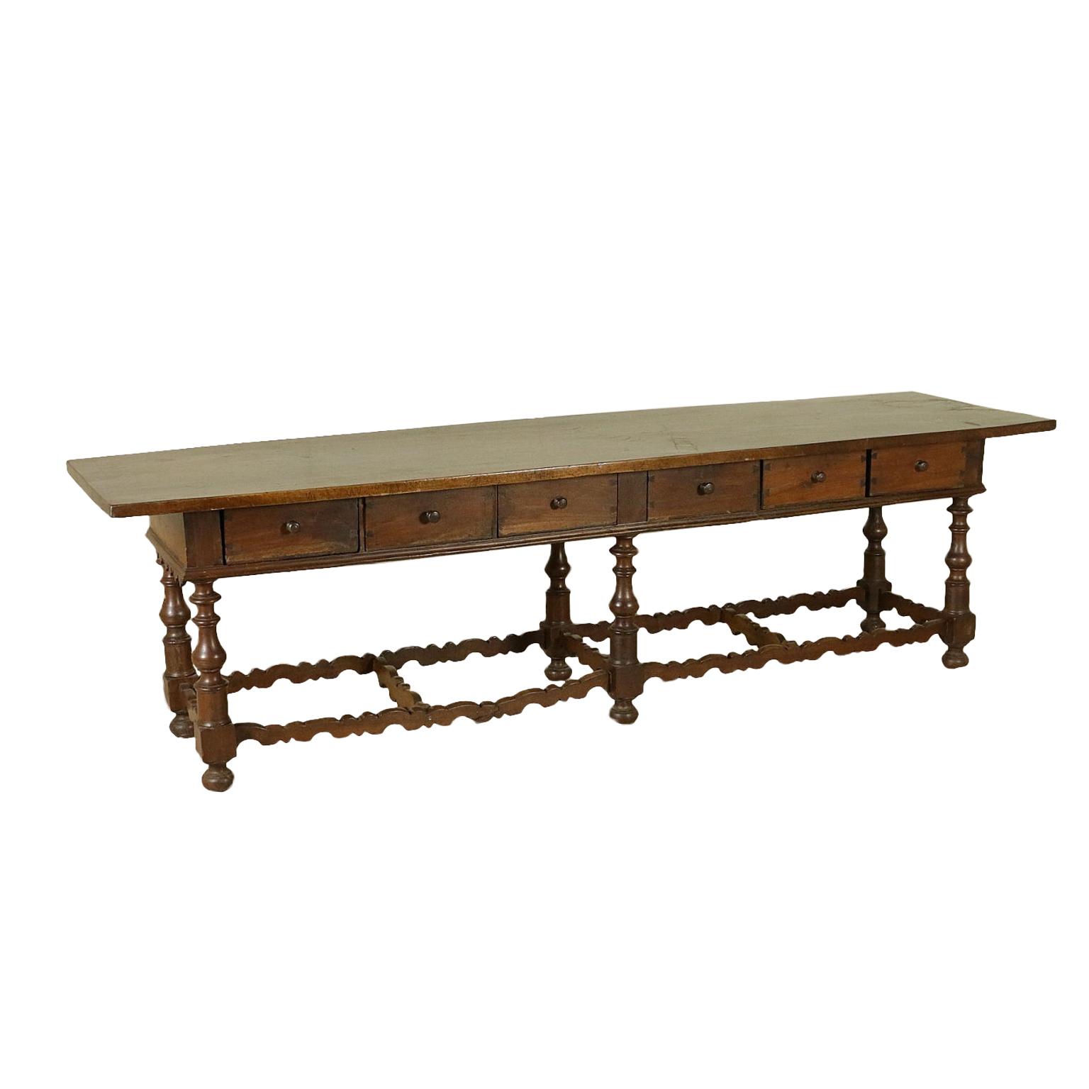 Tavolo di grandi dimensioni tavoli antiquariato - Dimensioni tavolo ...