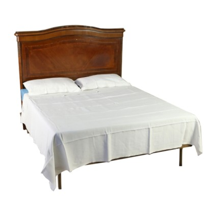 Full linen double sheet two pillowcases
