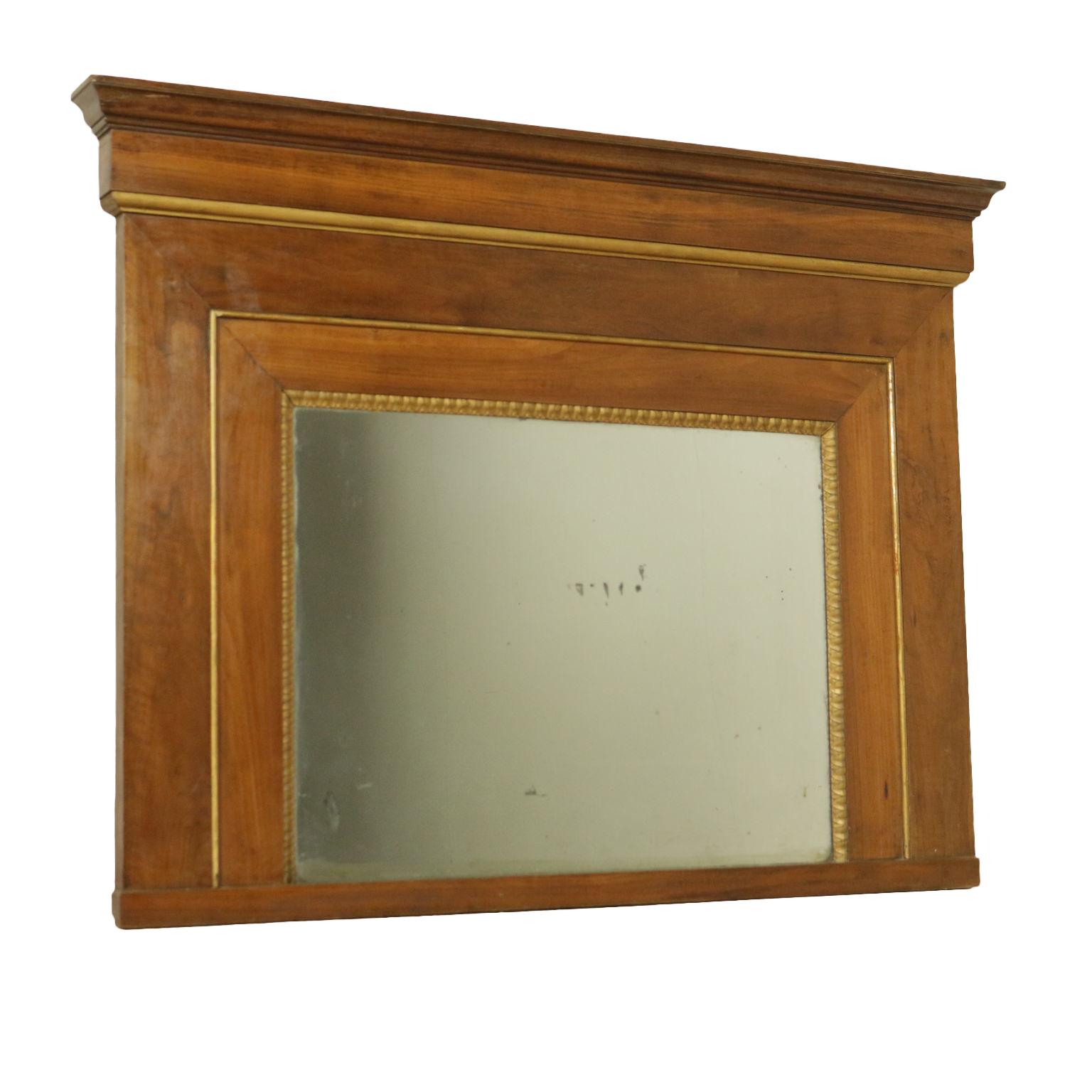 gro e caminiera spiegel und rahmen antiquit ten. Black Bedroom Furniture Sets. Home Design Ideas