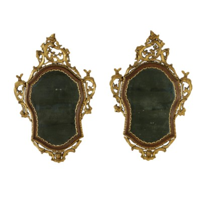 Pair of Baroque mirrors