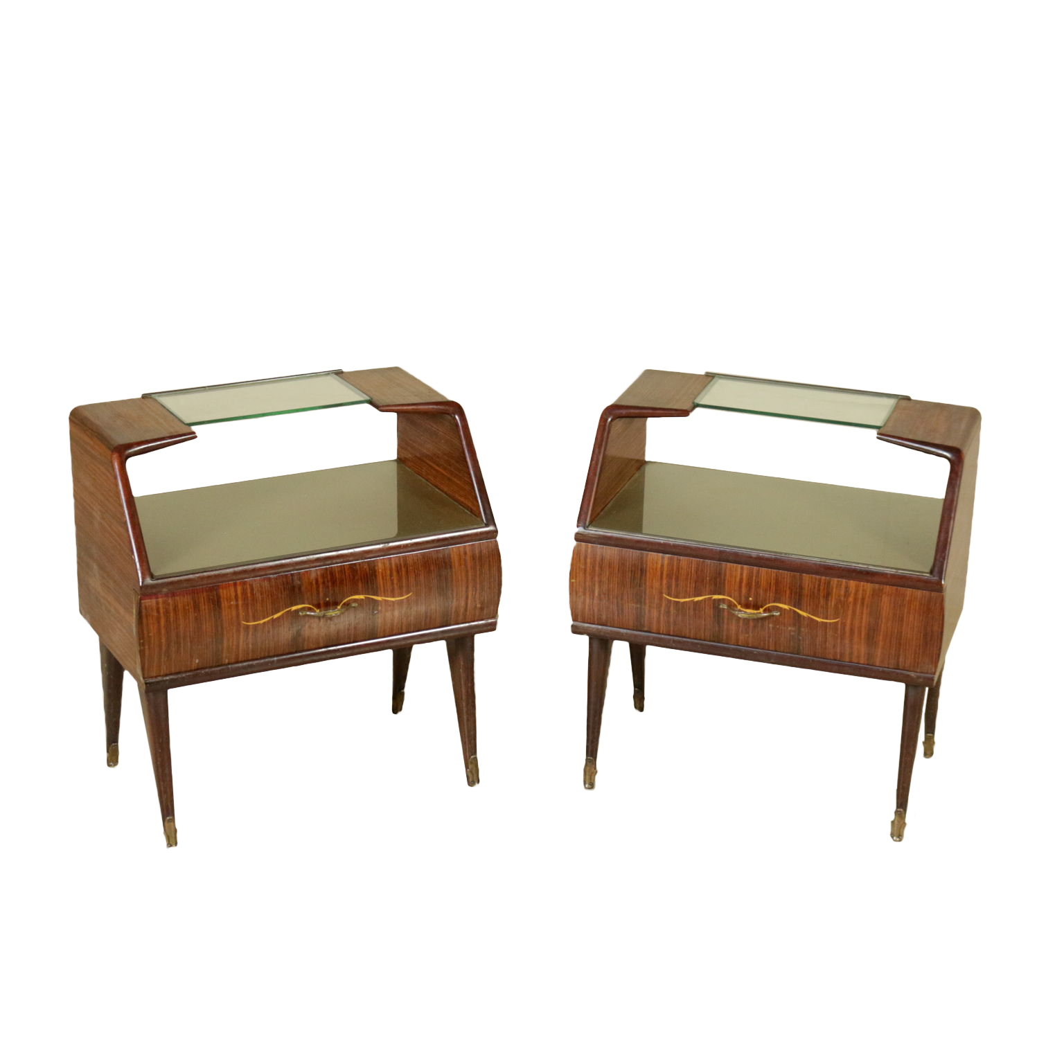 Bedside tables of the 50s furniture modern design dimanoinmano it