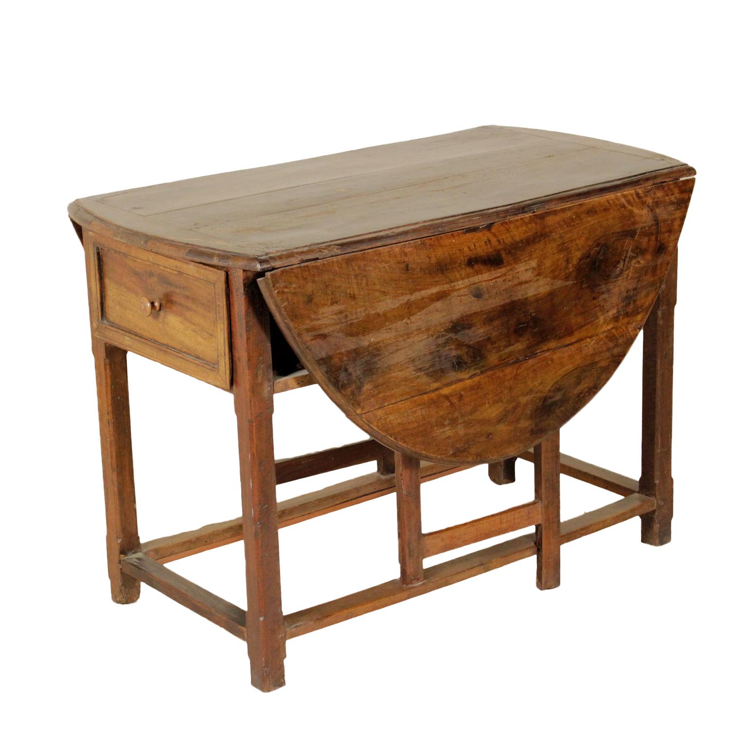 Tavolo a bandelle tavoli antiquariato - Tavoli da pranzo antichi ...