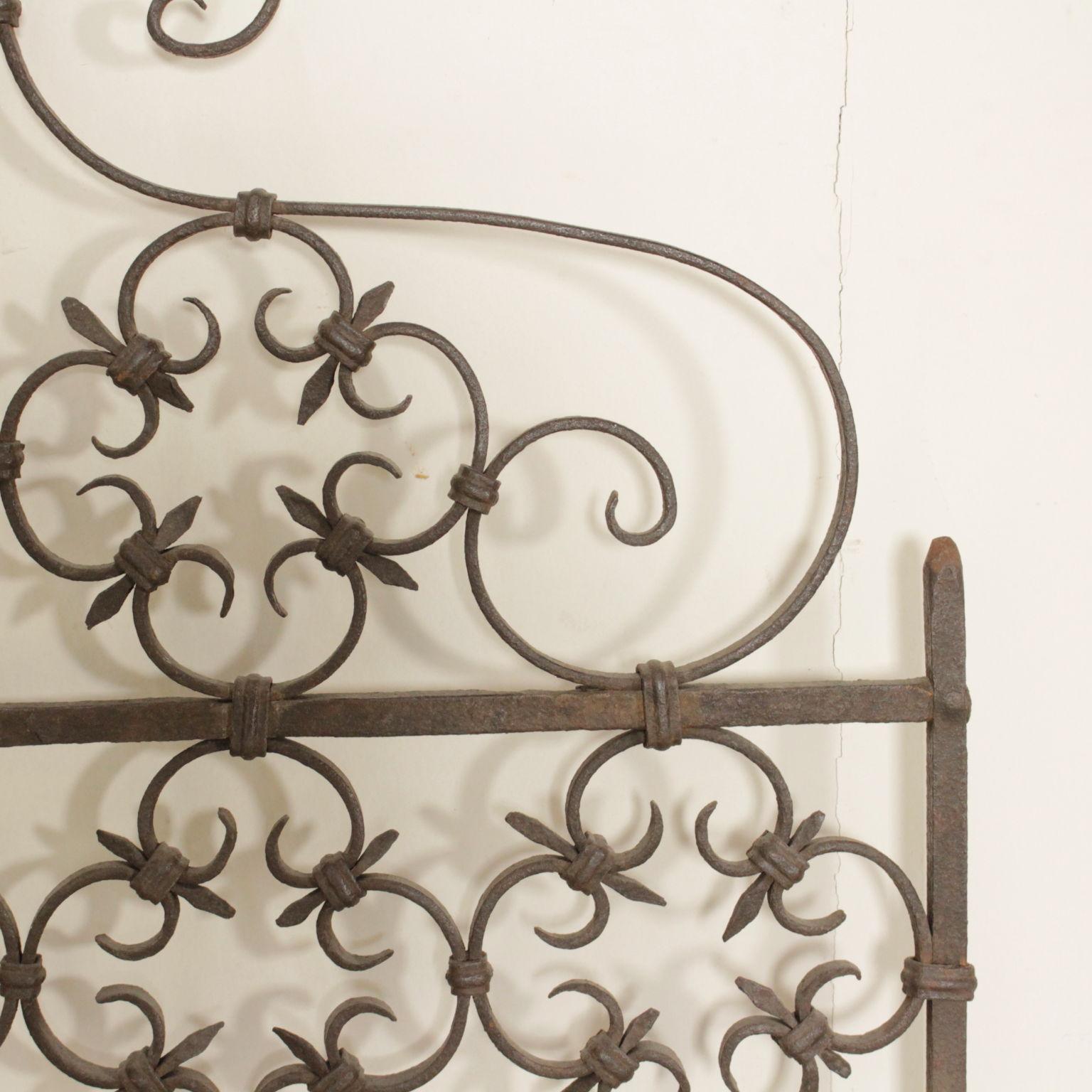 Cancelletto in ferro battuto altri mobili antiquariato - Cancelletto in ferro battuto ...