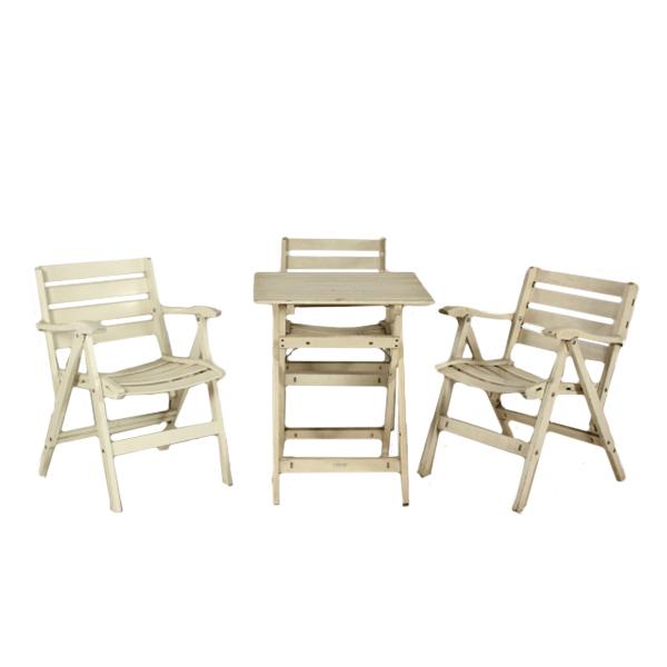 Gruppo di sedie e tavolo reguitti tavoli modernariato for Reguitti mobili da giardino